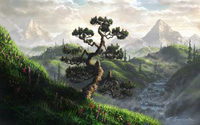 Mountain landscape - Fel-X